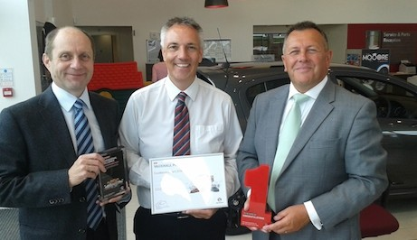 Fourteenth award for Bristol Street Motors Vauxhall Harrogate colleague