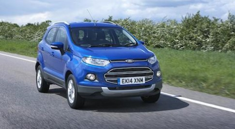 The all-new Ford EcoSport available now