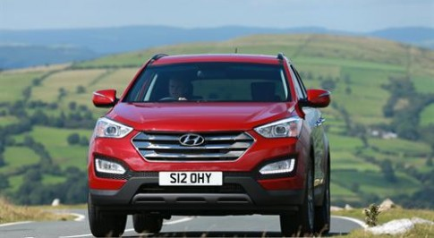 Hyundai Santa Fe named the best large SUV