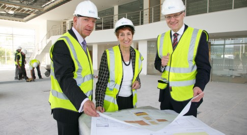 Work starts on Infiniti centre Newcastle