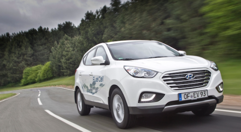 Hyundai Motor's ix35 completes record hydrogen-powered drive