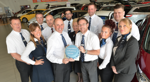 Worcester dealership celebrates colleagues 30 years service