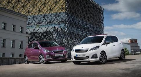 Peugeot 108 e-VTi 3dr gets high marks for running costs
