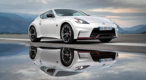 Nissan reveals updated 370Z Nismo