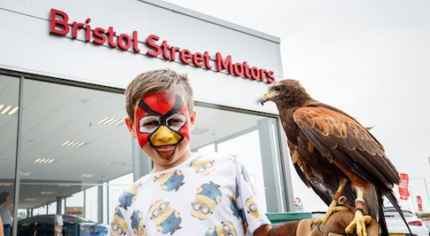 Bristol Street Motors in Carlisle hosts family fun day for charity