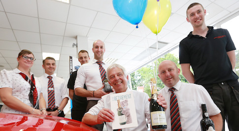Bristol Street Motors stalwart retires after 50 years in the motor trade