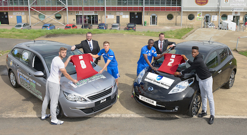Bristol Street Motors sponsorship deal contributes to Cobblers success