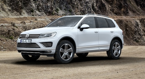 The most efficient Touareg ever on the way