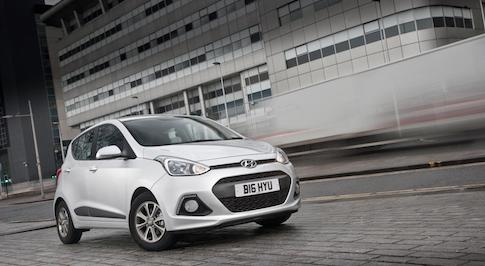 Hyundai i10 is voted Car of the Year by UK Dealers