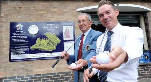Bristol Street Motors Peugeot Chesterfield sponsors local golf club