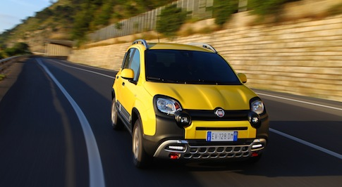 New Fiat Panda Cross boasts wealth of technology