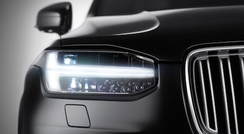 First images of the Volvo XC90 released