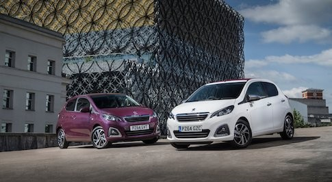 Peugeot 108 is a chart topper