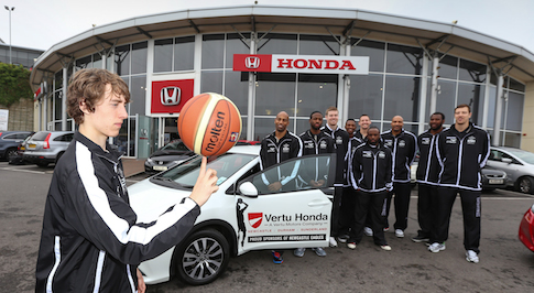 Vertu Honda joins forces with Newcastle Eagles in sponsorship deal