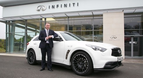 Infiniti Newcastle opens at Silverlink
