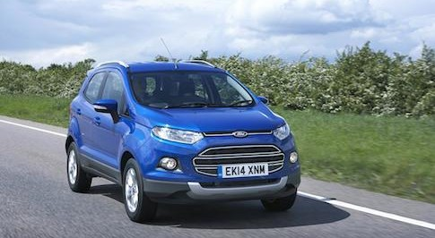 Ford EcoSport offers competitive space for a small SUV