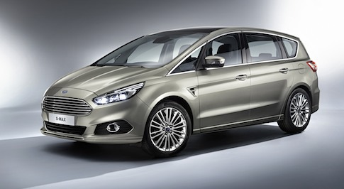 Ford reveals the new S-MAX