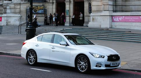 Infiniti seduces fashion followers at London's Victoria and Albert Museum exhibition