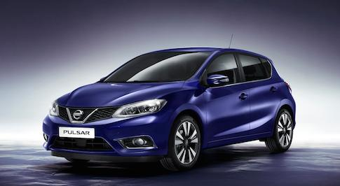 Nissan introduces the all-new Pulsar hatchback