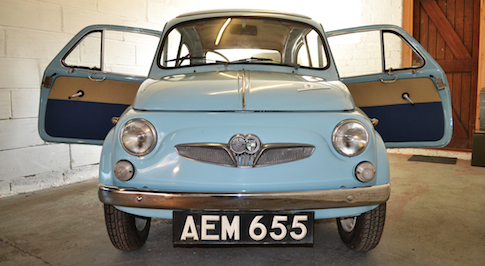 Incredibly rare 1960 Fiat 500 goes under the hammer