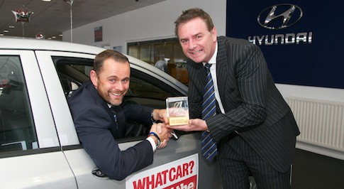 Bristol Street Motors Hyundai in Peterlee wins prestigious European award