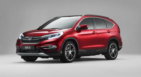 New UK built Honda CR-V unveiled at Paris Motor Show