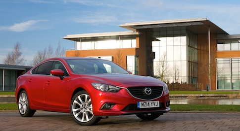 Striking Mazda 6 Coup� targets 4 Series