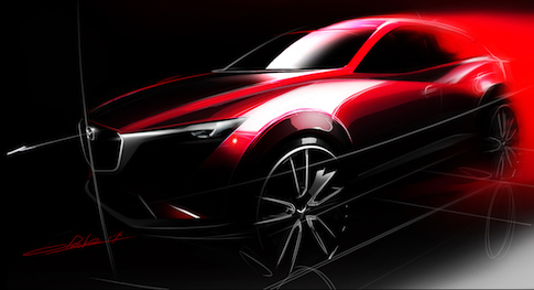 Mazda debuting all-new CX-3 at 2014 LA Auto Show