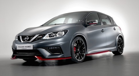 Nissan creates NISMO Pulsar for Paris