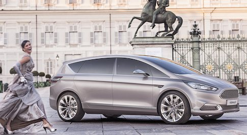 Ford showcases Vignale range and lounges
