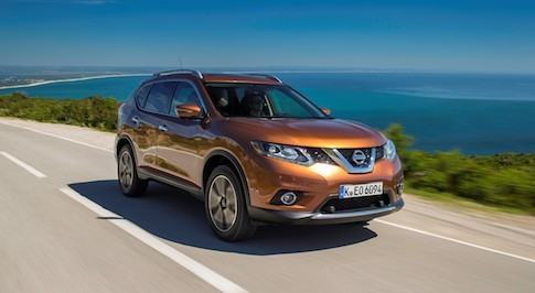 Nissan X-Trail gets five-star EuroNCAP rating