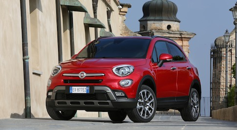 Fiat unveils the 500X to the UK media