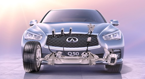 Infiniti's Direct Adaptive Steering System awarded again