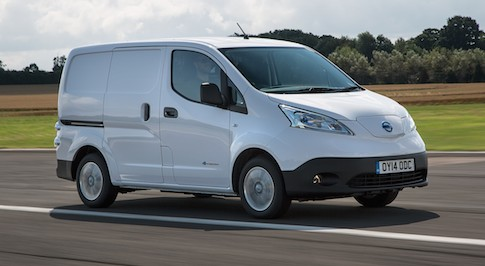 Nissan e-NV200 awarded Next Green Car LCV of the year