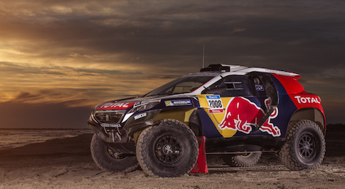 Peugeot 2008 DKR undergoes transformation ahead of Dakar Rally 2015