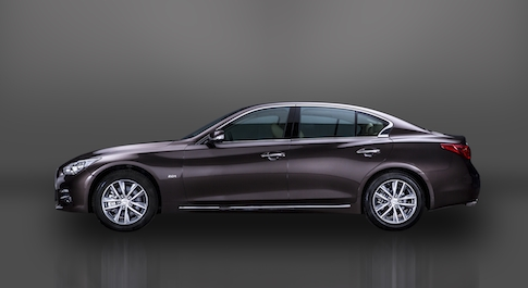 Infiniti Q50L goes into production in China