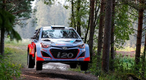 Hyundai World Rally team prepares for season finale