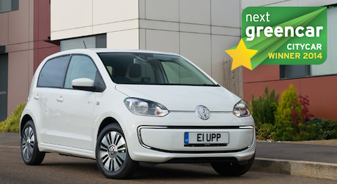 Volkswagen e-up! electric is the best green city car