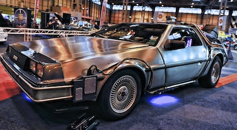 Stars of the big screen shine at Classic Motor Show