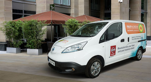 Nissan e-NV200 is top banana!