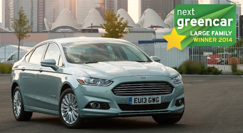 Ford Mondeo is the awarded the title of best green large family car