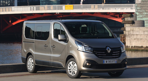 Order books for the Renault Trafic and Master Passenger are now open