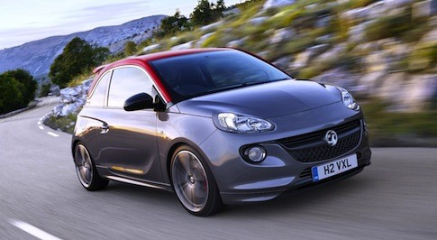 Vauxhall Adam Grand Slam makes its debut