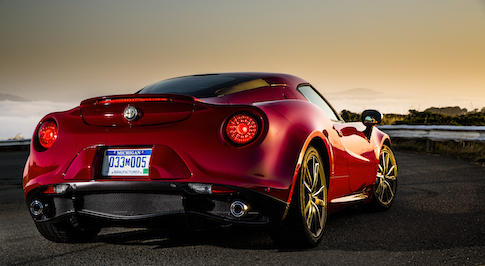 Alfa Romeo 4C is an all-star automobile