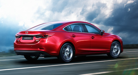 Mazda technology first appear on the near Mazda6
