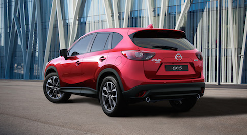 Latest Mazda CX-5 adds new equipment for 2015