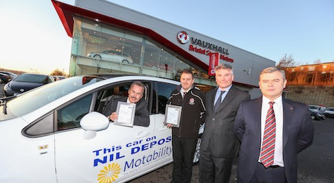Bristol Street Motors dealership recognised for excellent service in Motability