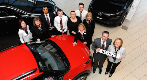 Bristol Street Motors colleague celebrates 25 years of loyal service