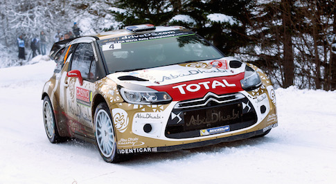 Citroen DS 3 WRCs rack up most stage wins in Monte Carlo