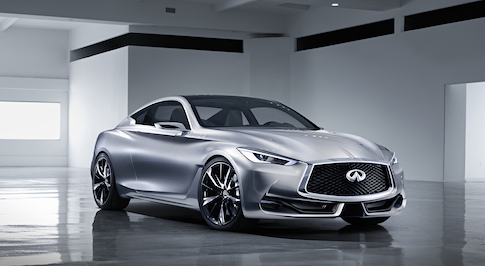 Infiniti reveals future generation sports coupe